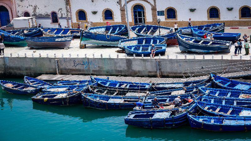 Maroko - Esauira grad vetra