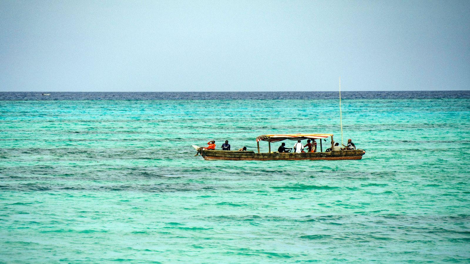 Plavi safari na Zanzibaru