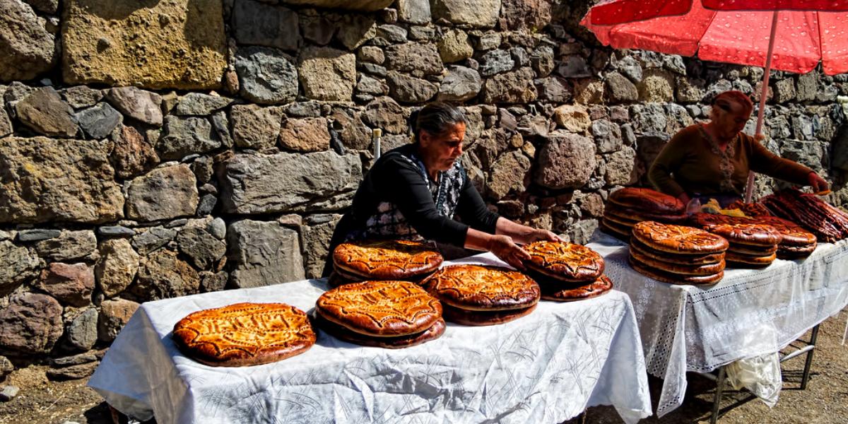 Tradicionalni slatkiši Jermenije i Gruzije